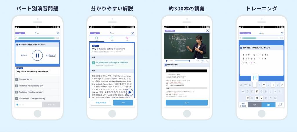 スタディサプリTOIECアプリ