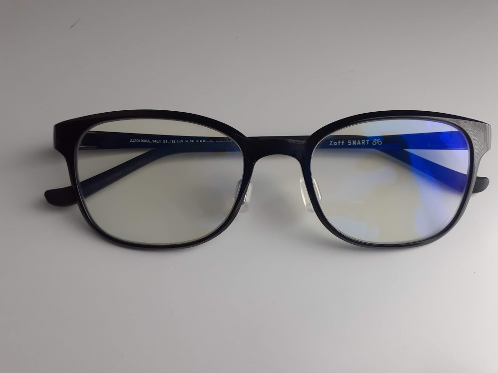 Zoffブルーライトカットメガネ